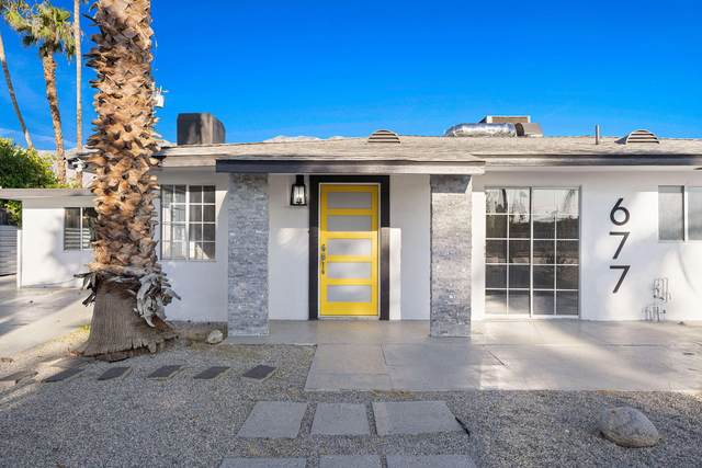 677 Highland Drive, Palm Springs, CA 92264 (MLS #219064359) :: Zwemmer Realty Group