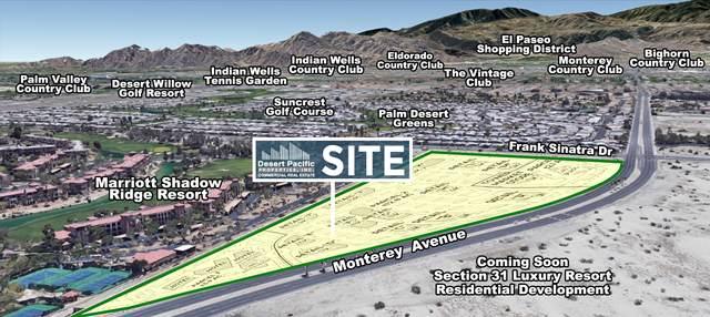 0 Monterey Ave & Frank Sinatra, Rancho Mirage, CA 92270 (MLS #219065227) :: KUD Properties