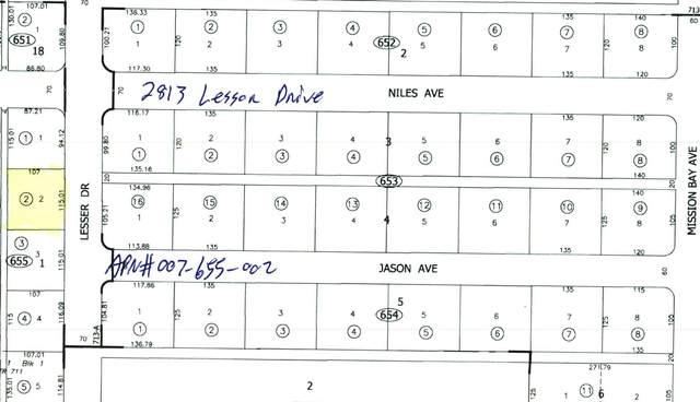 2813 Lesser Drive, Salton City, CA 92275 (#219065255) :: The Pratt Group