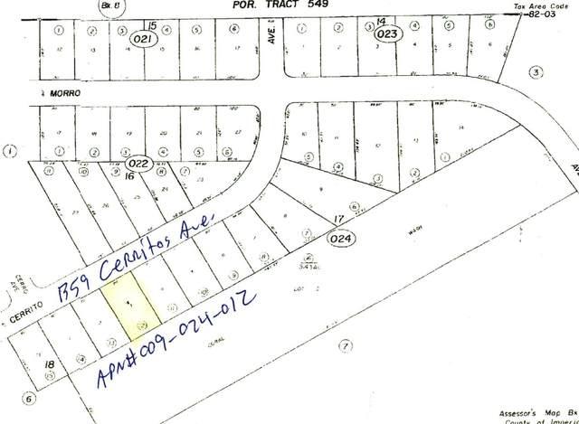 1359 Cerritos Avenue, Salton City, CA 92275 (#219065657) :: The Pratt Group