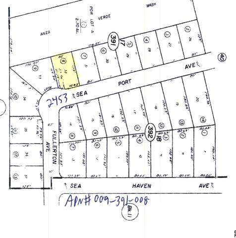 2453 Sea Port Avenue, Salton City, CA 92275 (MLS #219066771) :: The John Jay Group - Bennion Deville Homes