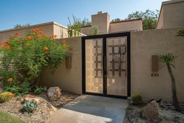 643 Hospitality Drive, Rancho Mirage, CA 92270 (MLS #219067212) :: Zwemmer Realty Group