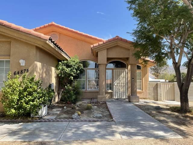 64874 Burke Court, Desert Hot Springs, CA 92240 (MLS #219067370) :: The Sandi Phillips Team