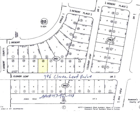 986 Clover Leaf Drive, Salton City, CA 92275 (MLS #219067387) :: Hacienda Agency Inc