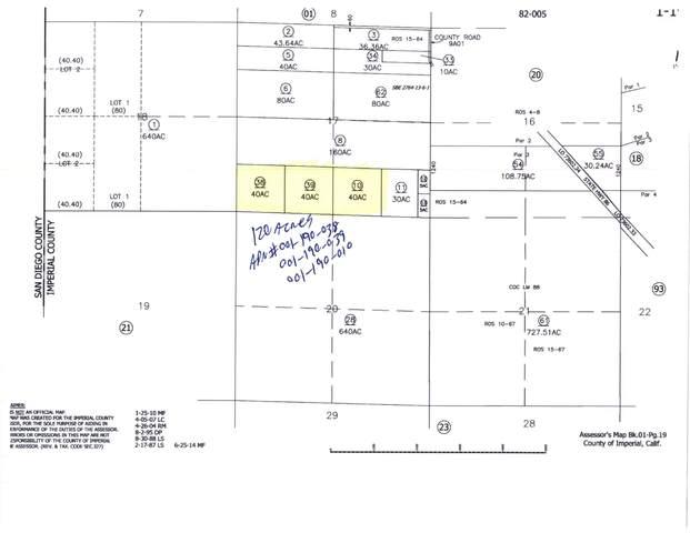 0 120 Acres Raw Land, Salton City, CA 92275 (MLS #219067390) :: Hacienda Agency Inc
