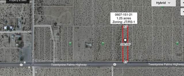 1.25 Acres Hwy 62 Near Sunfair Road, Joshua Tree, CA 92252 (MLS #219067489) :: Zwemmer Realty Group