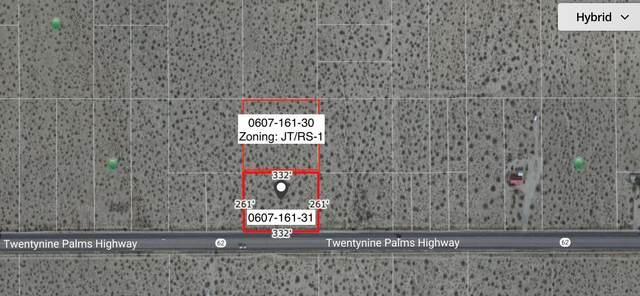 5 Acres Hwy 62 Near Sunfair Road, Joshua Tree, CA 92252 (MLS #219067491) :: Zwemmer Realty Group