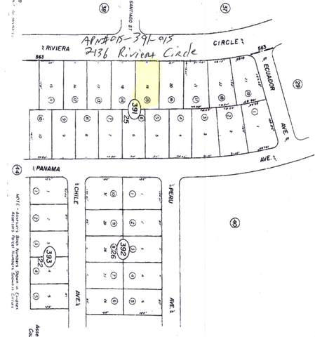 2136 Riviera Circle, Salton City, CA 92275 (MLS #219067842) :: The John Jay Group - Bennion Deville Homes