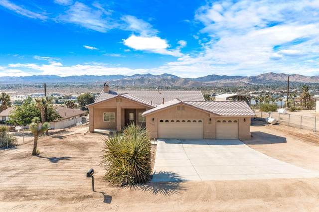 57651 Old Mill Road, Yucca Valley, CA 92284 (MLS #219067949) :: Mark Wise | Bennion Deville Homes