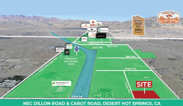 2.18 Ac Dillon, Desert Hot Springs, CA 92240 (MLS #219068110) :: KUD Properties