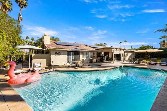 3169 E Anzuelo Circle, Palm Springs, CA 92264 (MLS #219068491) :: The Jelmberg Team