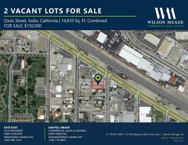 1 Oasis Street, Indio, CA 92201 (MLS #219068544) :: Desert Area Homes For Sale