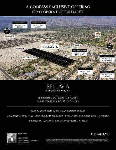 18 Lots Bellavia, Rancho Mirage, CA 92270 (MLS #219068928) :: KUD Properties