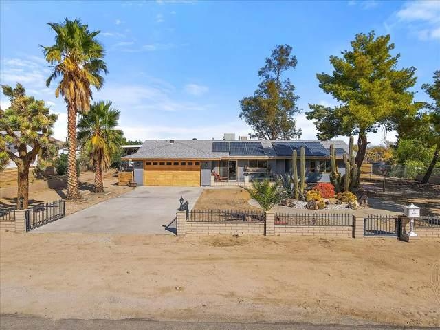 62146 Crestview Drive, Joshua Tree, CA 92252 (#219069327) :: The Pratt Group