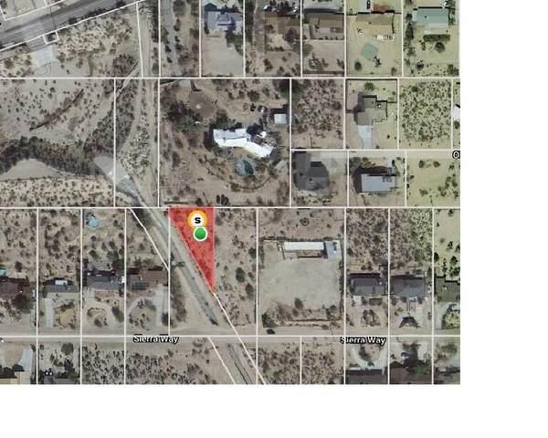 0 Sierra Way, Yucca Valley, CA 92284 (MLS #219069458) :: KUD Properties