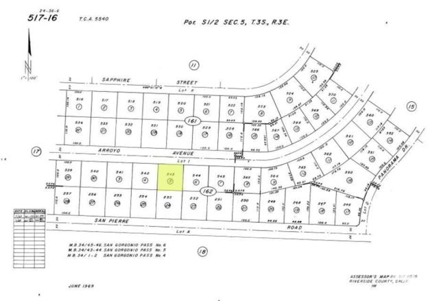 0 Arroyo Avenue, Whitewater, CA 92282 (MLS #218016642) :: Brad Schmett Real Estate Group