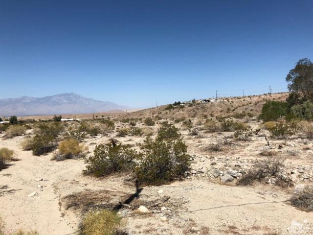 0 Dennis Avenue, Joshua Tree, CA 92252 (MLS #218019338) :: The John Jay Group - Bennion Deville Homes