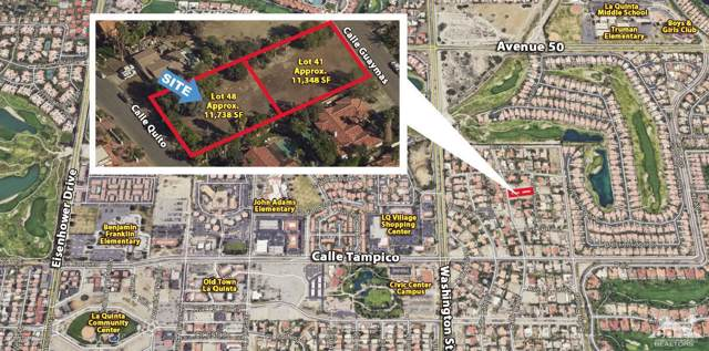 Lot 48 Calle Quito, La Quinta, CA 92253 (MLS #218024548) :: Desert Area Homes For Sale