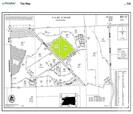 20-acres Wells Road, Blythe, CA 92225 (MLS #218027660) :: Hacienda Group Inc
