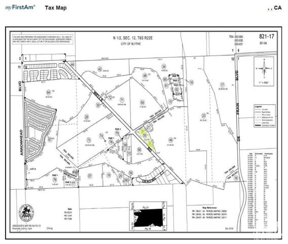 2-acres Wells Road, Blythe, CA 92225 (MLS #218027664) :: Team Wasserman