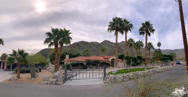 1033 W Chino Canyon Road, Palm Springs, CA 92262 (MLS #219003853) :: Brad Schmett Real Estate Group