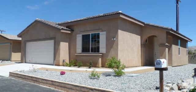 65565 Acoma Avenue #50, Desert Hot Springs, CA 92240 (MLS #219011379) :: Hacienda Group Inc