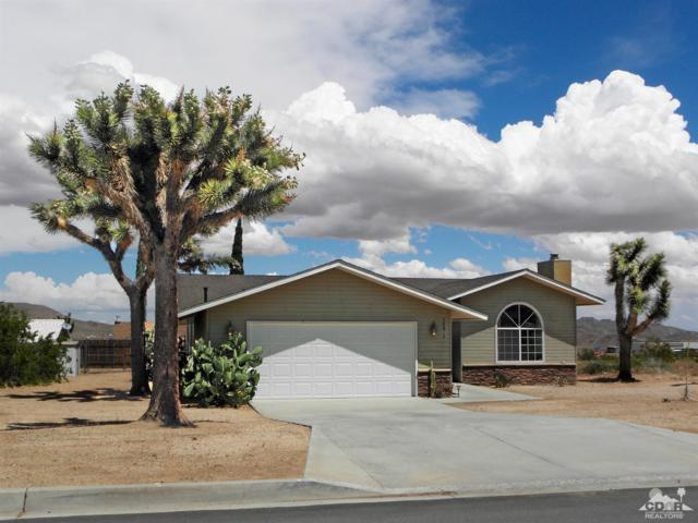 58832 Natoma Trail, Yucca Valley, CA 92284 (MLS #219012787) :: The John Jay Group - Bennion Deville Homes