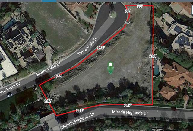 1 Sierra Vista (1,29 Acre Lot) Drive, Rancho Mirage, CA 92270 (MLS #219037720) :: Lisa Angell