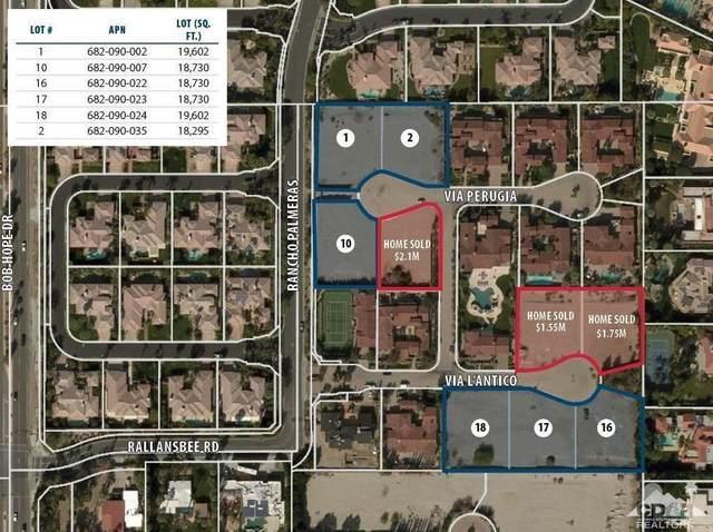 1 Via Perugia, Rancho Mirage, CA 92270 (MLS #219040194) :: The Jelmberg Team