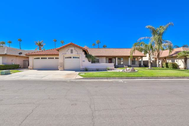 43815 La Carmela Drive, Palm Desert, CA 92211 (MLS #219047794) :: The Jelmberg Team