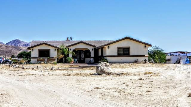 30600 Happy Valley Drive, Desert Hot Springs, CA 92241 (MLS #219049166) :: The Sandi Phillips Team