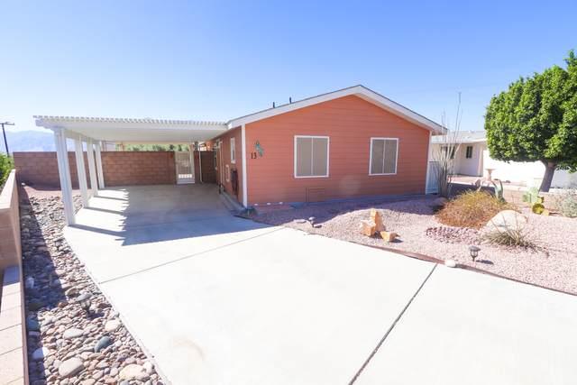 69525 Dillon Road #13, Desert Hot Springs, CA 92241 (MLS #219051553) :: The Jelmberg Team