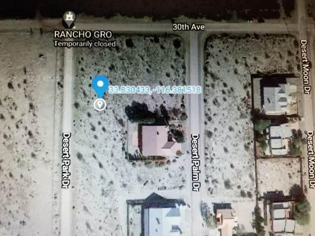 0 Desert Park Drive, Thousand Palms, CA 92276 (MLS #219055940) :: Hacienda Agency Inc