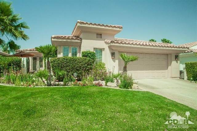 78720 Castle Pines Drive, La Quinta, CA 92253 (MLS #219058321) :: The Jelmberg Team