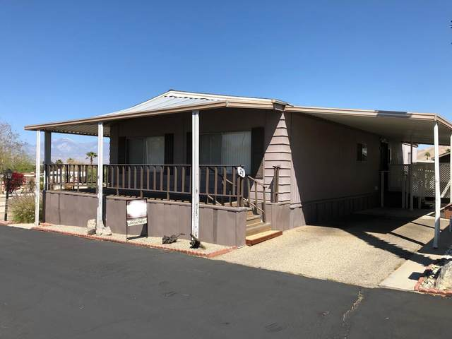 18555 Roberts Road #21, Desert Hot Springs, CA 92241 (MLS #219060037) :: Brad Schmett Real Estate Group