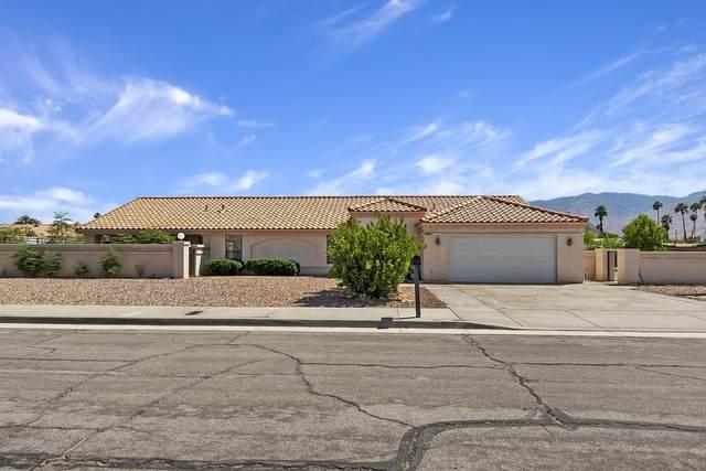 3955 E Camino San Simeon, Palm Springs, CA 92264 (MLS #219061513) :: The John Jay Group - Bennion Deville Homes