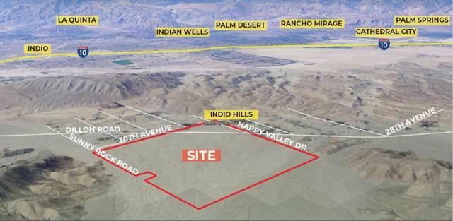 0 Dillon St & Happy Valley Dr Road, Desert Hot Springs, CA 92241 (MLS #217008218) :: Hacienda Agency Inc