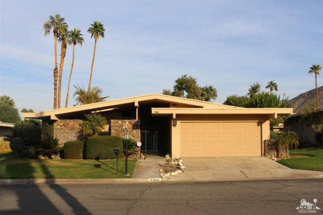 2364 Paseo Del Rey, Palm Springs, CA 92264 (MLS #218035058) :: Hacienda Group Inc