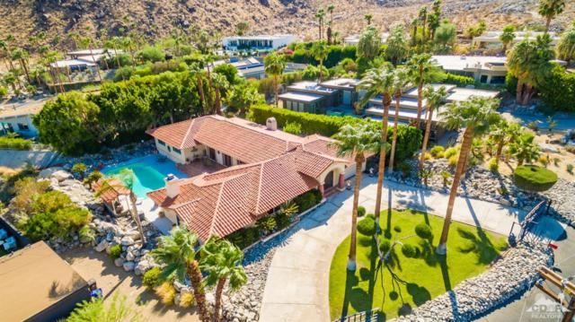 1033 W Chino Canyon Road, Palm Springs, CA 92262 (MLS #219003853) :: The John Jay Group - Bennion Deville Homes