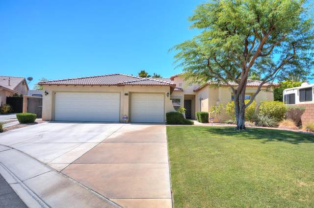 83067 Hillcrest Court, Indio, CA 92203 (MLS #219045937) :: The John Jay Group - Bennion Deville Homes