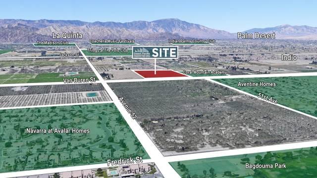 0 Van Buren St & Ave 52, Coachella, CA 92236 (MLS #219059795) :: Hacienda Agency Inc