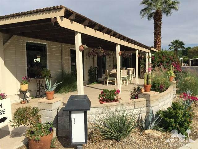 73450 Country Club Drive #190, Palm Desert, CA 92260 (MLS #219023061) :: Hacienda Agency Inc