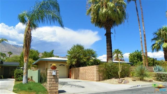 577 N Calle Marcus, Palm Springs, CA 92262 (MLS #17282462PS) :: Brad Schmett Real Estate Group