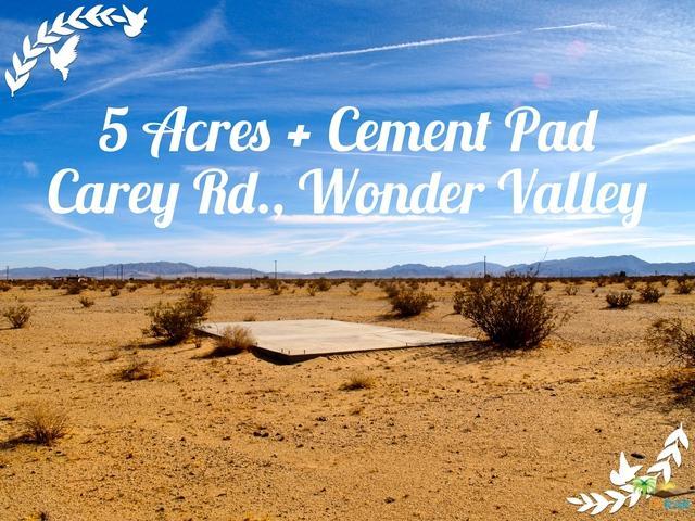 0 Carey Road, 29 Palms, CA 92277 (MLS #17293846PS) :: Team Wasserman