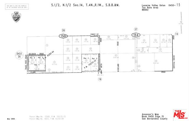 0 Clark Rd., Lucerne Valley, CA 92356 (MLS #17294882) :: Deirdre Coit and Associates