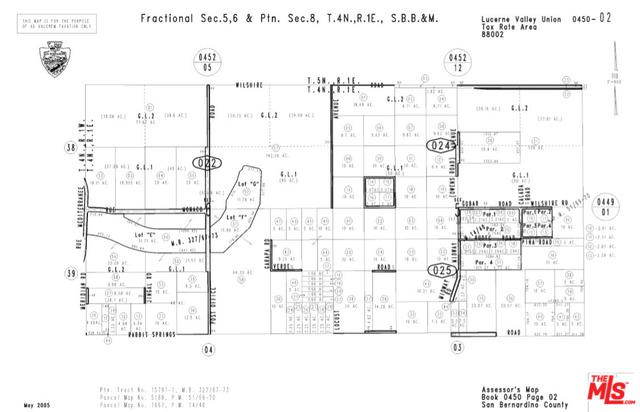 0 Locust Ave., Lucerne Valley, CA 92356 (MLS #17294884) :: The John Jay Group - Bennion Deville Homes