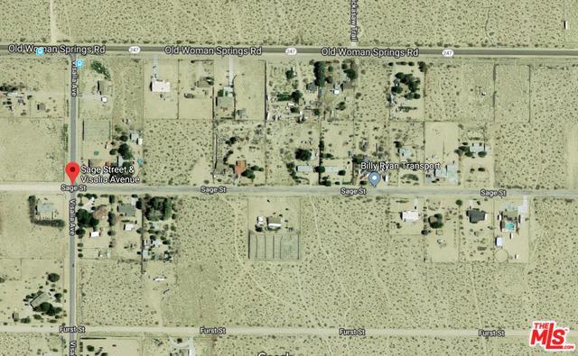 0 Sage Street, Lucerne Valley, CA 92356 (MLS #17294896) :: The John Jay Group - Bennion Deville Homes