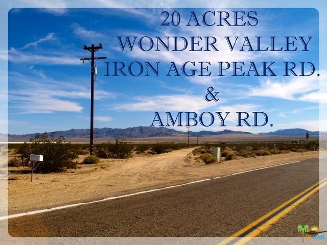 0 Ironage Peak Road, 29 Palms, CA 92277 (MLS #17295010PS) :: Team Wasserman