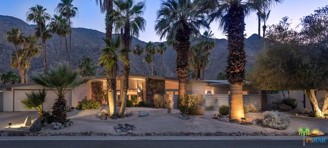 823 N Topaz Circle, Palm Springs, CA 92262 (MLS #17297926PS) :: The John Jay Group - Bennion Deville Homes