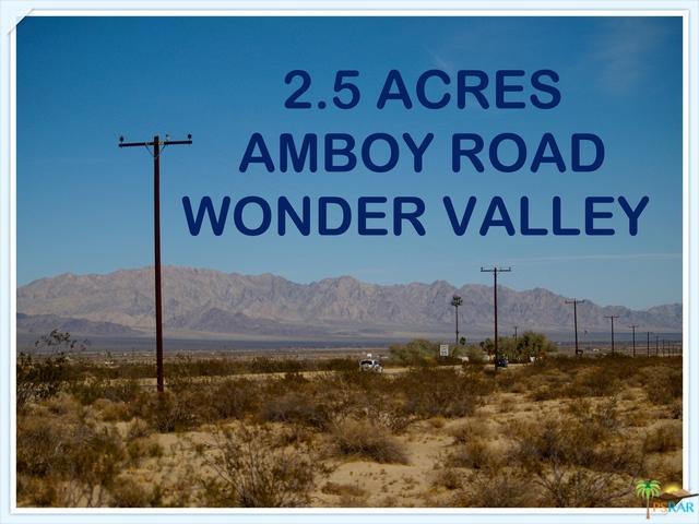 0 Amboy Road, 29 Palms, CA 92277 (MLS #18300706PS) :: Team Wasserman